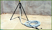 Air Pump Inlet Filter Extension Hose and Tripod